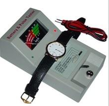 Cuarzo envío gratis reloj Impulse y botón batería Checker batería Tester reloj filetea
