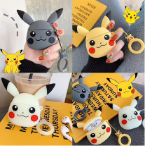 Applicable to Airpods1 cartoon silicone case AirPods2 skin protection cover Bluetooth wireless earphone box cute