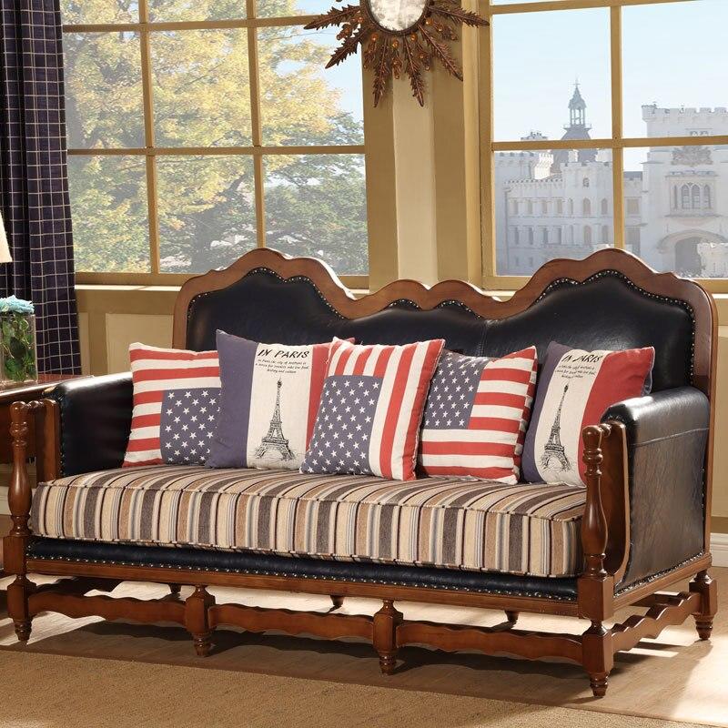 DSinterior furniture italian design genuine leather sofa ...