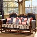 DSinterior mobiliário de design italiano sofá de couro genuíno conjunto combinação