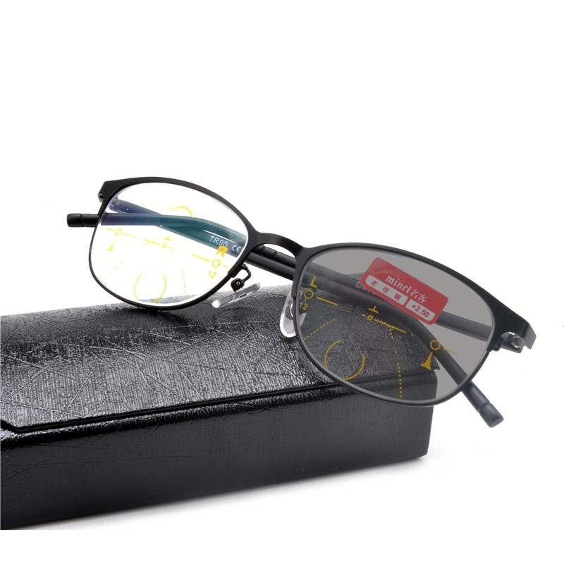 89f748ae58 Sun photochromism 2019 Progressive multifocal Reading Glasses Men  Presbyopia Hyperopia Bifocal Glasses Women With box NX