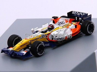 NOREV <font><b>1</b></font>:<font><b>43</b></font> - ING RENAULT F1 TEAM - R27 - 2007 Die-cast metal <font><b>model</b></font> <font><b>car</b></font> image