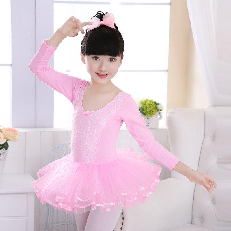 c2e1530d0 Girls Ballet Tutu Dancewear Pink Romantic Ballet Dance Clothes ...