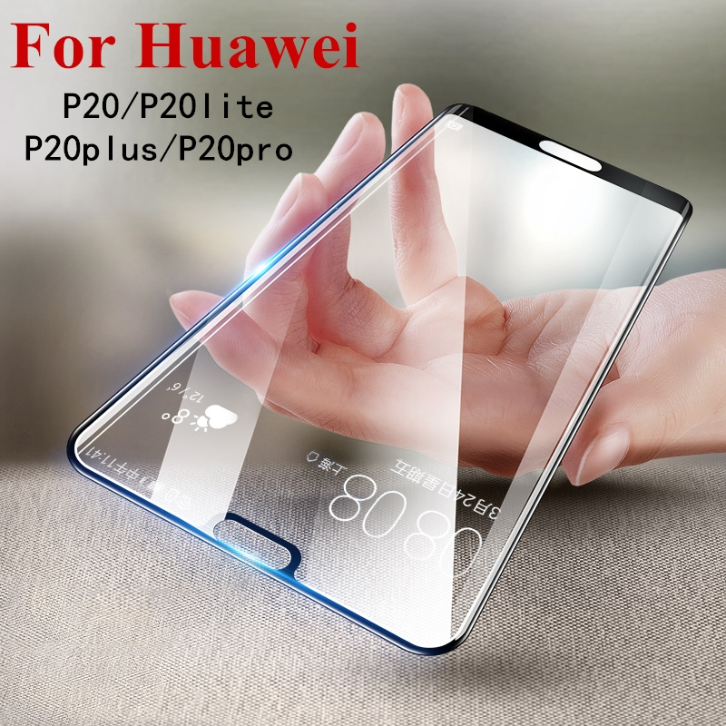 Full Cover for Huawei P20 Lite case P20 Pro P 20 Plus film for Huawei P10 Lite tempered glass p20lite p20plus p20pro protector