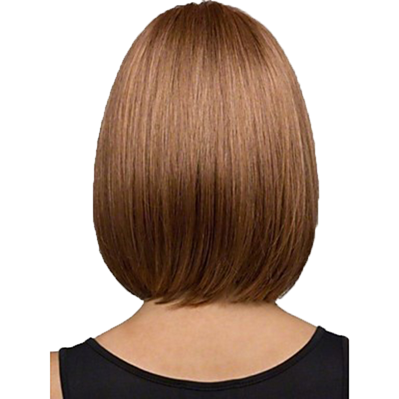Image 2 - HAIRJOY Women Synthetic Wigs Brown Short Straight Bob Hairstyle  Heat Resistant Full Hair Wig  Freeshipping-in Synthetic None-Lace  Wigs from Hair Extensions & Wigs