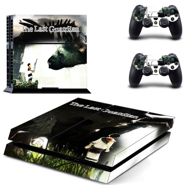 The last guardian hitokui no oowashi trico game cover for ps4 skin sticker for ps4 playstation