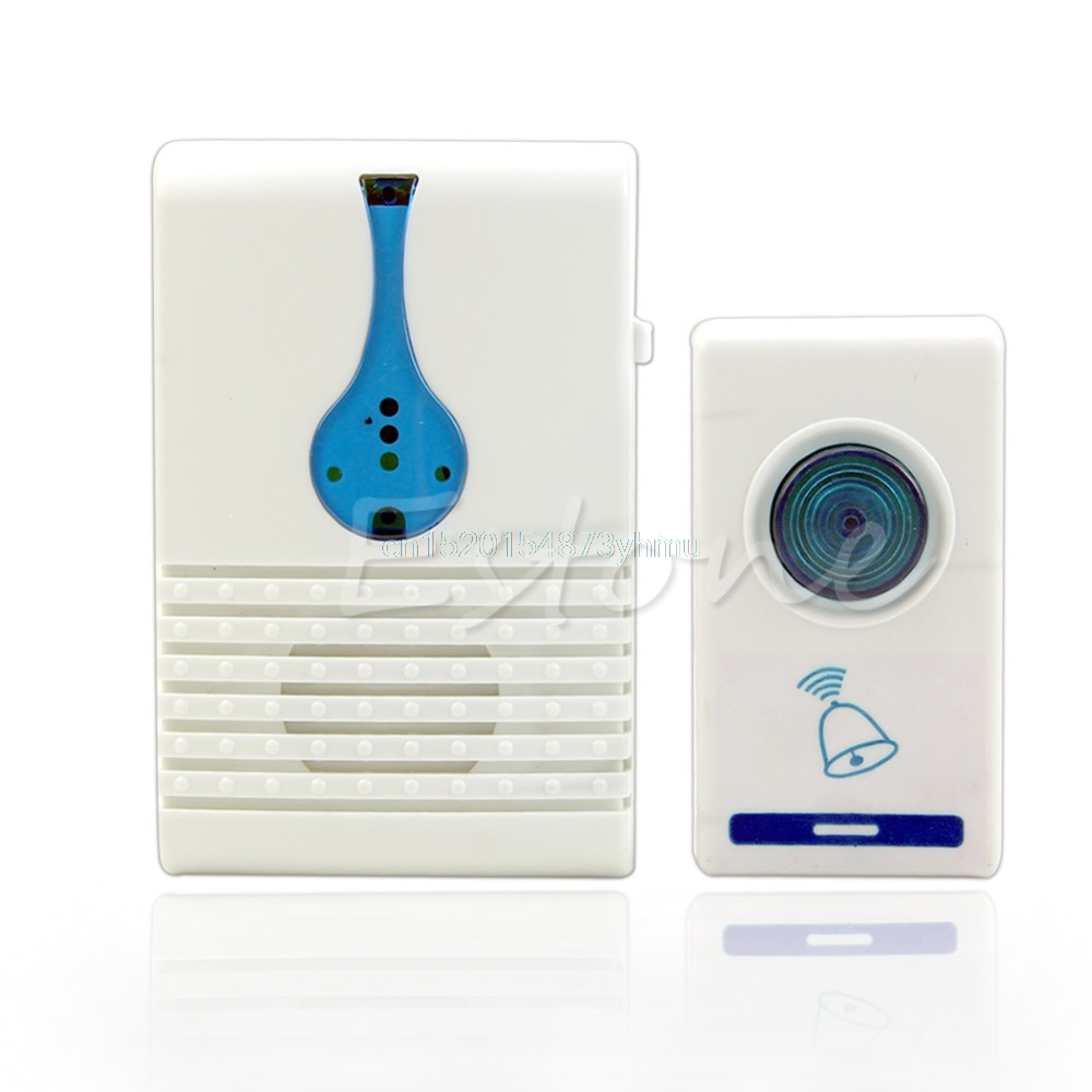 купить 100M Range Home 32 Tune Songs Wireless Chime Doorbell Door Bell Remote Control #L057# new hot по цене 265.88 рублей
