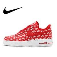 Nike Air Force 1 AF1 07 QS Authentic Men's Skateboarding Shoes Outdoor Sneakers Lightweight Athletic Designer Footwear AH8462