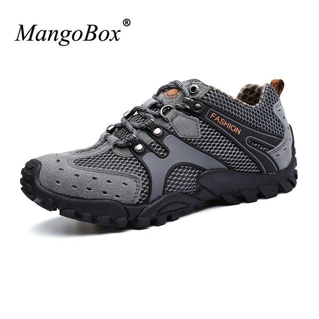 2016 Best Hiking Boots For Men Anti-Slip Outdoor Boots Men Summer/Autumn Male Walking Shoes Lightweight Trekking Shoes Men