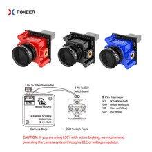Foxeer Monster Micro Pro 1,8 мм 16:9 1200TVL PAL/NTSC WDR низкой задержкой FPV Камера Встроенный OSD DC 5 V-40 V кронштейн Камера VS Caddx