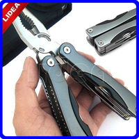11 In 1 Outdoor Camping Survival Travel Multifunction Can Opener Portable Stainless Steel Folding Pliers HW