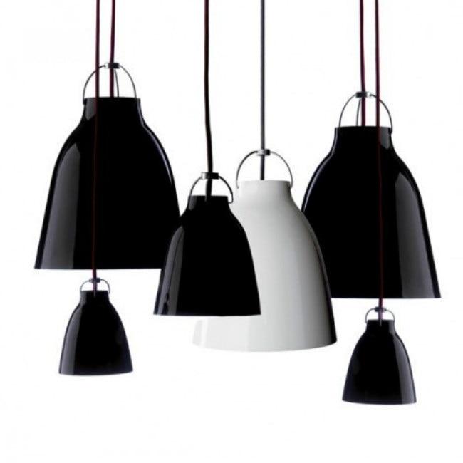 A1 Modern black/white pendant lights minimalist Caravaggio Caravaggio lamp trigeminal aluminum Restaurant pendant lamps FG905 a1 black stent modern minimalist vintage