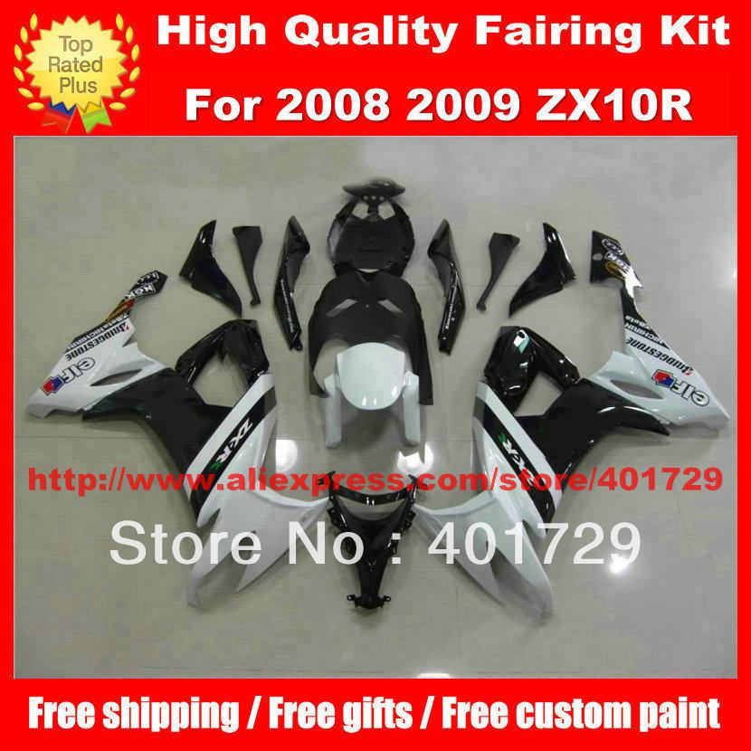 ABS Green Fairings for Kawasaki ZX10R Ninja zx 10r 2004 2005 04 05 sticker  7gifts fairing kit TP01