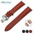 Cowhide Genuine Leather Watch Band 22mm for LG G Watch W100 / W110 / Urbane W150 Quick Release Strap Wrist Belt Bracelet
