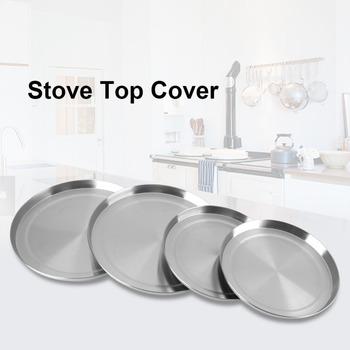4 sztuk zestaw kuchenka do gotowania ze stali nierdzewnej Top palnik obejmuje kuchenka pokrywa ochronna pokrywka narzędzie do gotowania tanie i dobre opinie Haofy CN (pochodzenie) Części do parowaru