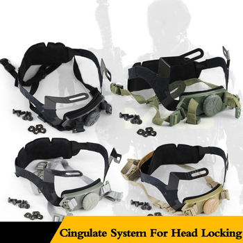 emersongear emerson abs fast helmet bj type bump jump helmet protective adjustable airsoft climbing tactical helmet wear Tactical Helmet System Inner Suspension Fast Adjustable Strap for Airsoft Paintball Hunting Climbing Helmet Accessories