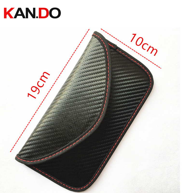 New Black Color Anti-Scan Card Sleeve Bag For Phone Jamming Bag & Radiation Blocker Bag Radiation Jammer Bag Anti Scanning