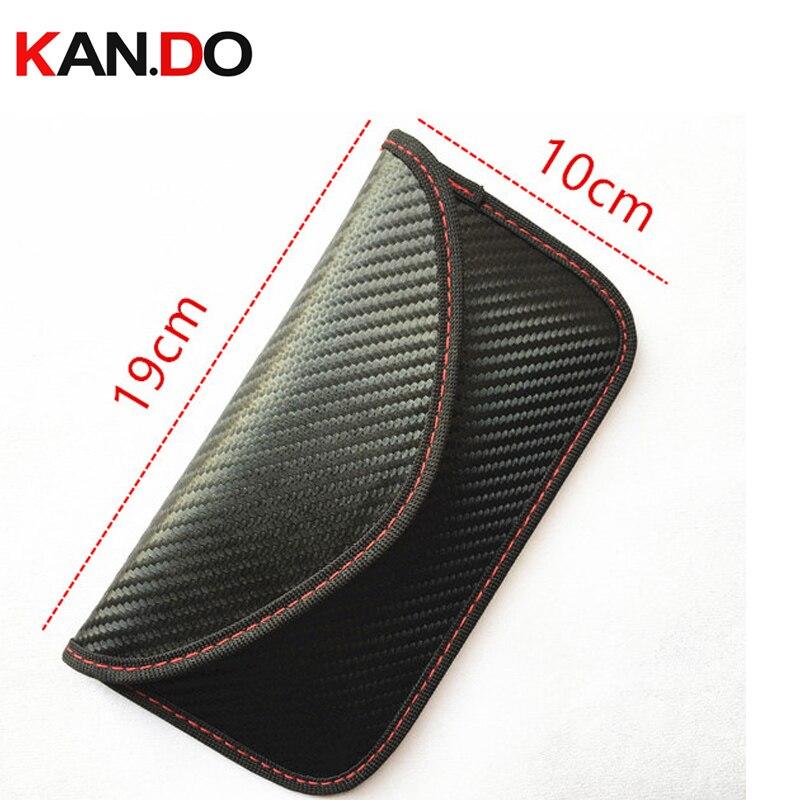New Black Color Anti-Scan Card Sleeve Bag For Phone Jamming Bag & Radiation Blocker Bag Radiation Jammer Bag Anti Scanning
