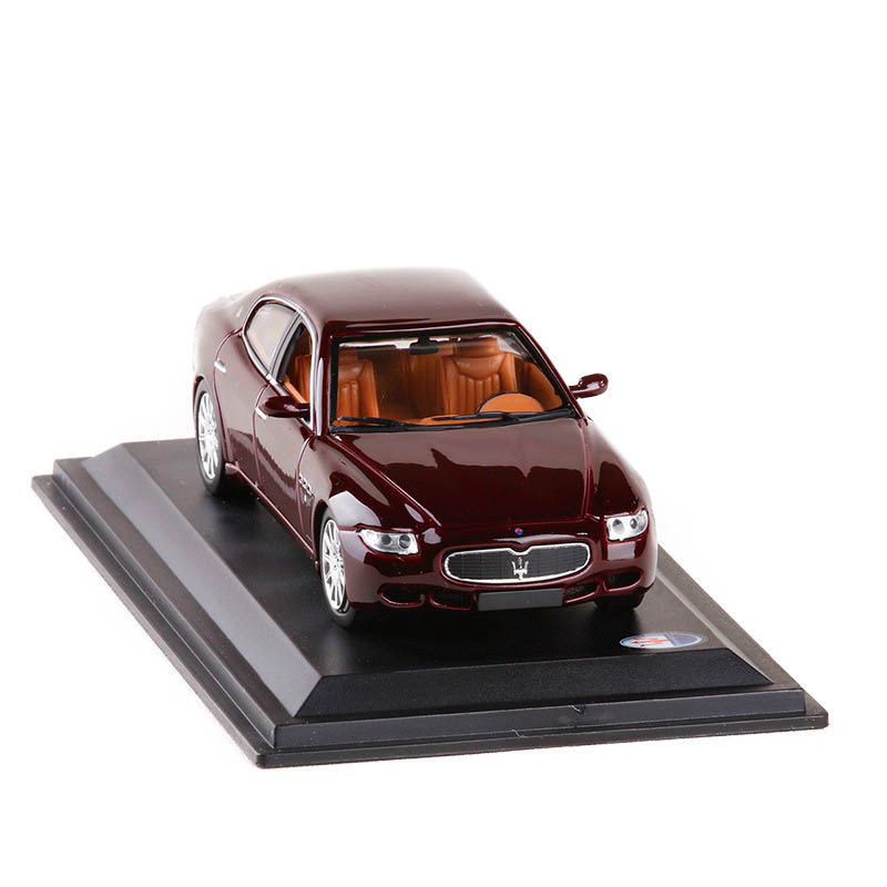 <font><b>1</b></font>:<font><b>43</b></font> <font><b>Scale</b></font> Italy Maserati V Diecast <font><b>Model</b></font> <font><b>Cars</b></font> Toy Quattroporte Alloy Collection <font><b>car</b></font> toys for children Collection with box image