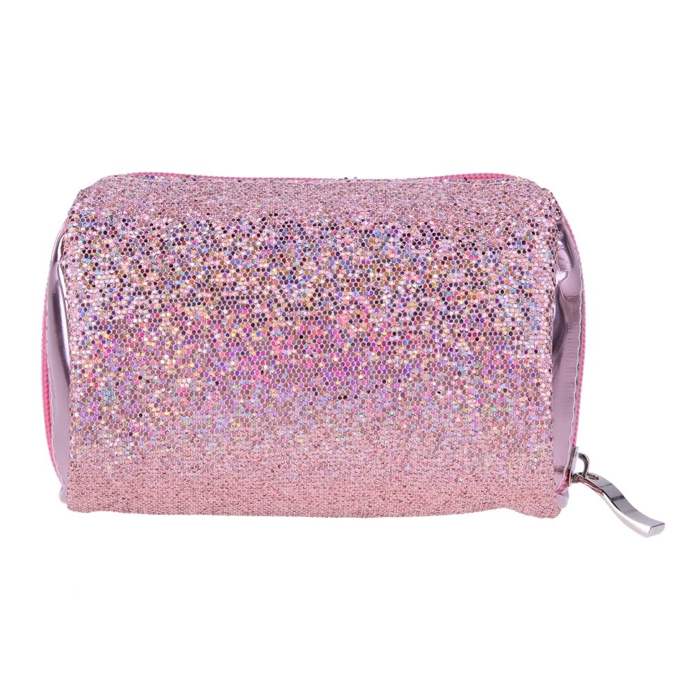 Designer Makeup Bags Sequins Luxury Cosmetic Bag Necessaries Organizer Women Beautician Travel Make Up Beauty Case Kit
