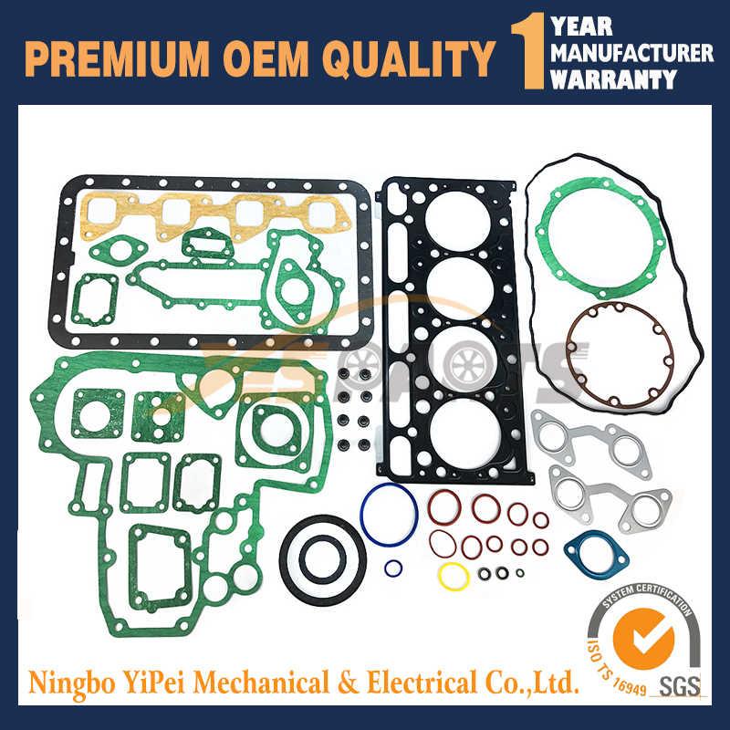 For kubota diesel engine V2203 full gasket set with cylinder head gasket  Bobcat S130 S150 S160 S175 07916-29505