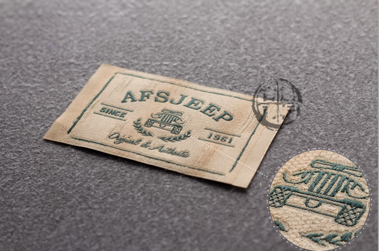 Custom logo brand name woven clothing labels tags for Create custom clothing tags