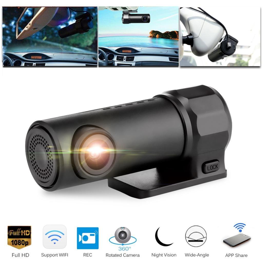 1080P chowana kamera samochodowa WIFI DVR wideorejestrator samochodowy kamera noktowizyjna Cam Car Styling Dropshipping