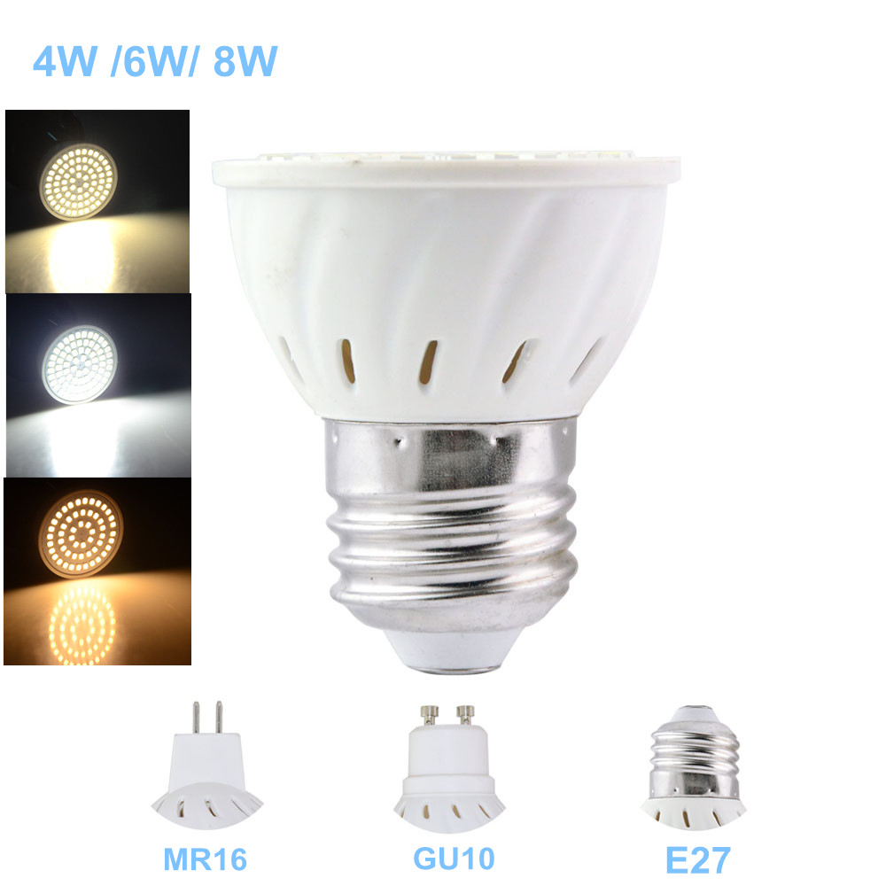 2016 new a bright spot light smd2835 gu10 mr16 e27 led lamp 220v 2016 new a bright spot light smd2835 gu10 mr16 e27 led lamp 220v bombillas lampada led bulb 4w 6w 8w for home lighting in led bulbs tubes from lights parisarafo Choice Image