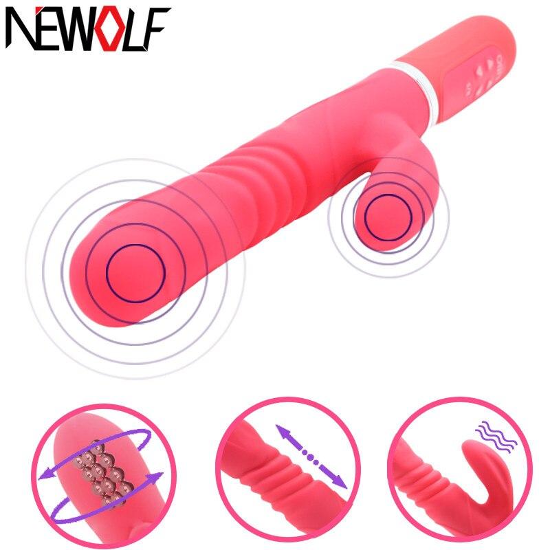 Buy 36 Speed Dildo Vibrator AV Stick G-Spot Vibrating Stick Adult Sex Toys Woman Waterproof Vibrators Women Sex Products Q56