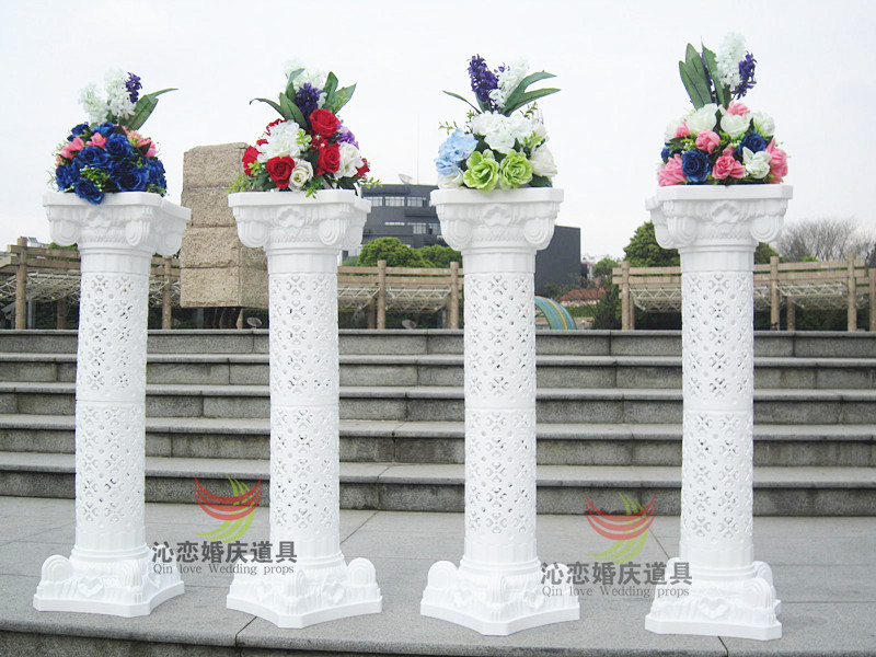 Decorating Columns For Wedding Wedding Pillars Wedding Roman Column