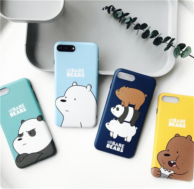 Newest South Korea Three Bears Bare Bear Soft Silicone