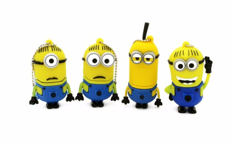 Trendy Despicable Me Figure USB Flash Drive