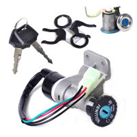DWCX 4 Pin Ignition Key Switch Lock Toolbox Cushion Lock For Chinese GY6 50cc 125cc 150cc