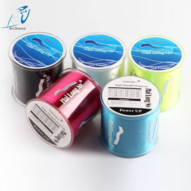 New counter nylon fishing line linha monofilamento for Fishing line counter for spooling