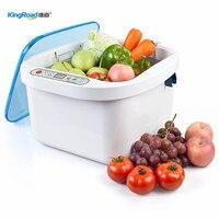Дома фрукты овощи ультразвуковой очистки с озона стерилизатор 12.8L ультразвуковая чистка удалить пестицидов удобрений пятна