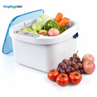 Home Fruit Vegetable Ultrasonic Cleaner With Ozone Sterilizer 12.8L Ultrasonic Clean Remove pesticide fertilizer stains