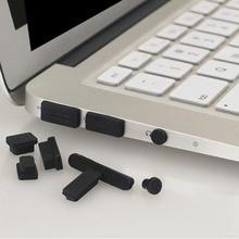 13 шт./компл. профессиональные Силиконовые Anti-Dust Разъем Крышка Пробка ноутбука пыле USB Dust Разъем набор подходит для Macbook