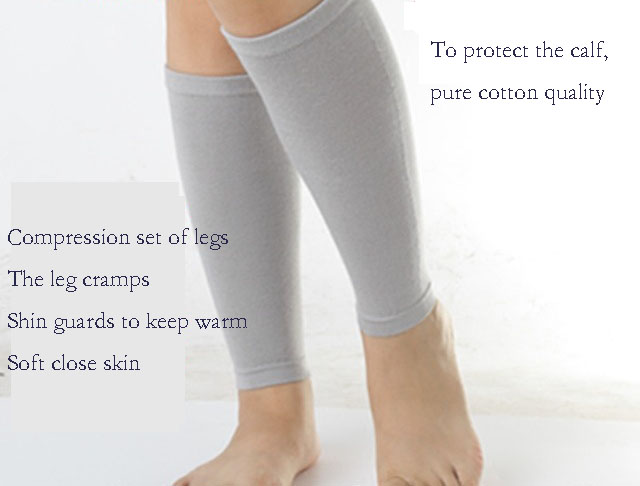 Cotton Socks And Leggings And Calf Support Air Conditioning Room Warm Leg Foot Wrist Movement Running Yoga