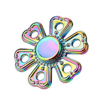 Hot Multi Color Triangle Gyro Tri Fidget Hand Spinner Torqbar Finger Toys EDC Focus ADHD Autism
