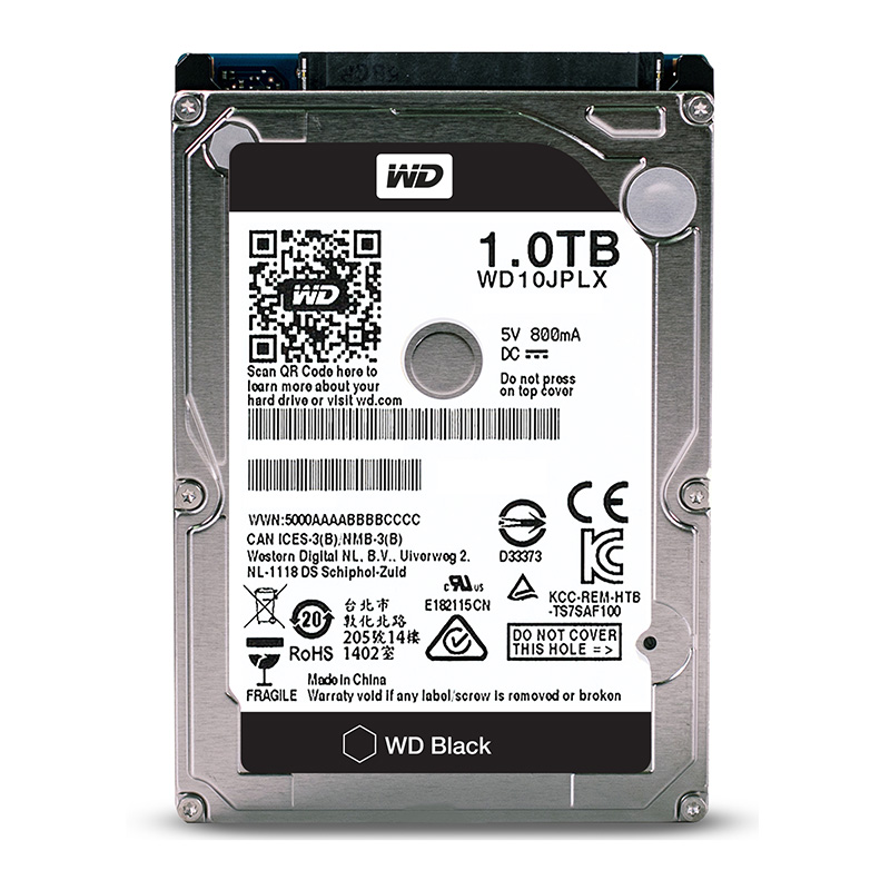 WD 1TB 2.5'' Black HDD HD SATA III Internal Hard Disk Drive 1000Gb Harddisk 6Gb/s 32M 9.5mm 7200 RPM for Notebook Laptop жесткий диск hdd 1500 gb wd 7200 sata ii 64mb raid wd1502fyps re4e