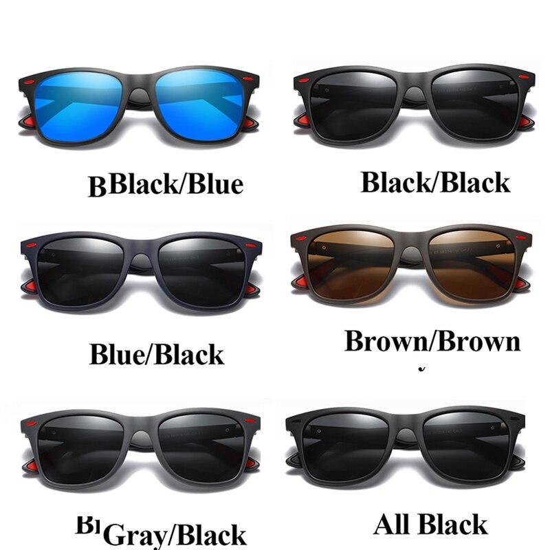 TAMWY BRAND DESIGN Classic Polarized Sunglasses Men Women Driving Square Frame Sun Glasses Male Goggle UV400 Gafas De Sol in Men 39 s Sunglasses from Apparel Accessories