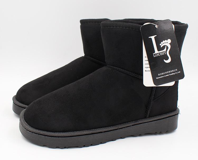 2017 мужские ботинки зимняя обувь теплые зимние сапоги модные слипоны для мужчин зимняя обувь ботильоны с мех