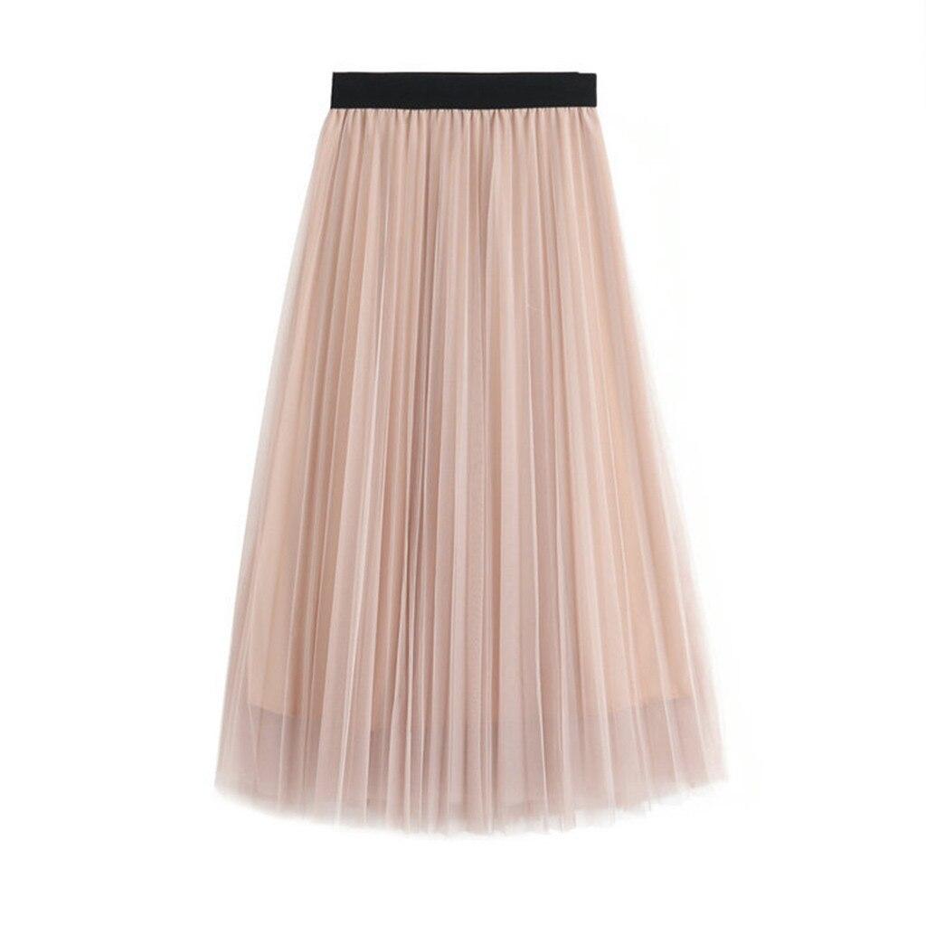 2020 MAXIORILL New New Long Skirt Women Maxi Vintage Lolita Petticoat DailyFalda Skirt подол Wholesale T3