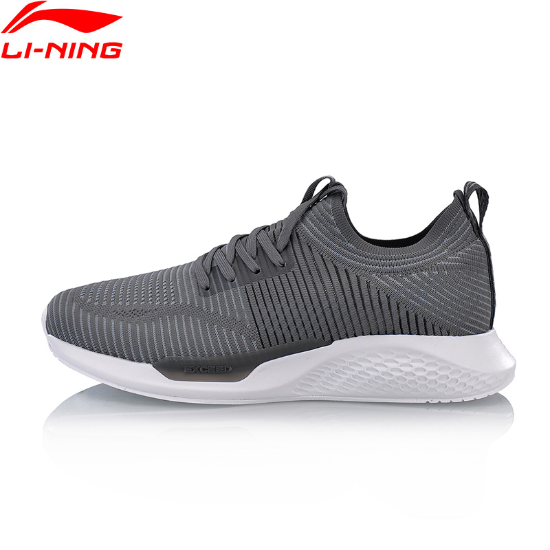 Li-Ning 2018 New Men Exceed LT Classic Walking Shoes The Trend Mono Yarn LN Cloud Support Li Ning Sneakers Sports Shoes AGCN035 original li ning men professional basketball shoes