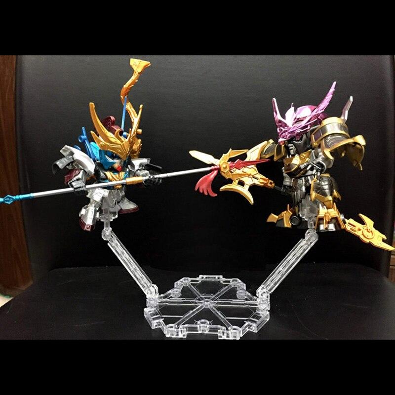 Высокое качество Универсальный шестисторонних браке База подходит Дисплей подставка для 1/144 hg/RG Gundam рисунок анимация Кино игры ACG Игрушечны...