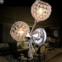 Upscale atmosphere hotel lamp creative bedroom bedside lamp aisle twin headlights LED lamps Wall Lamps Rmy 0290