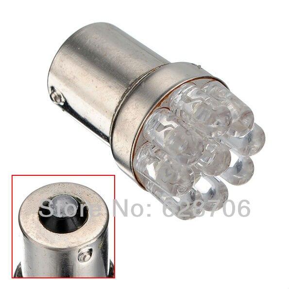1156 9 LED P21W BA15s 382 Amber Yellow White Car Auto Light Source Tail Brake Signal Parking Indicator Bulb Lamp