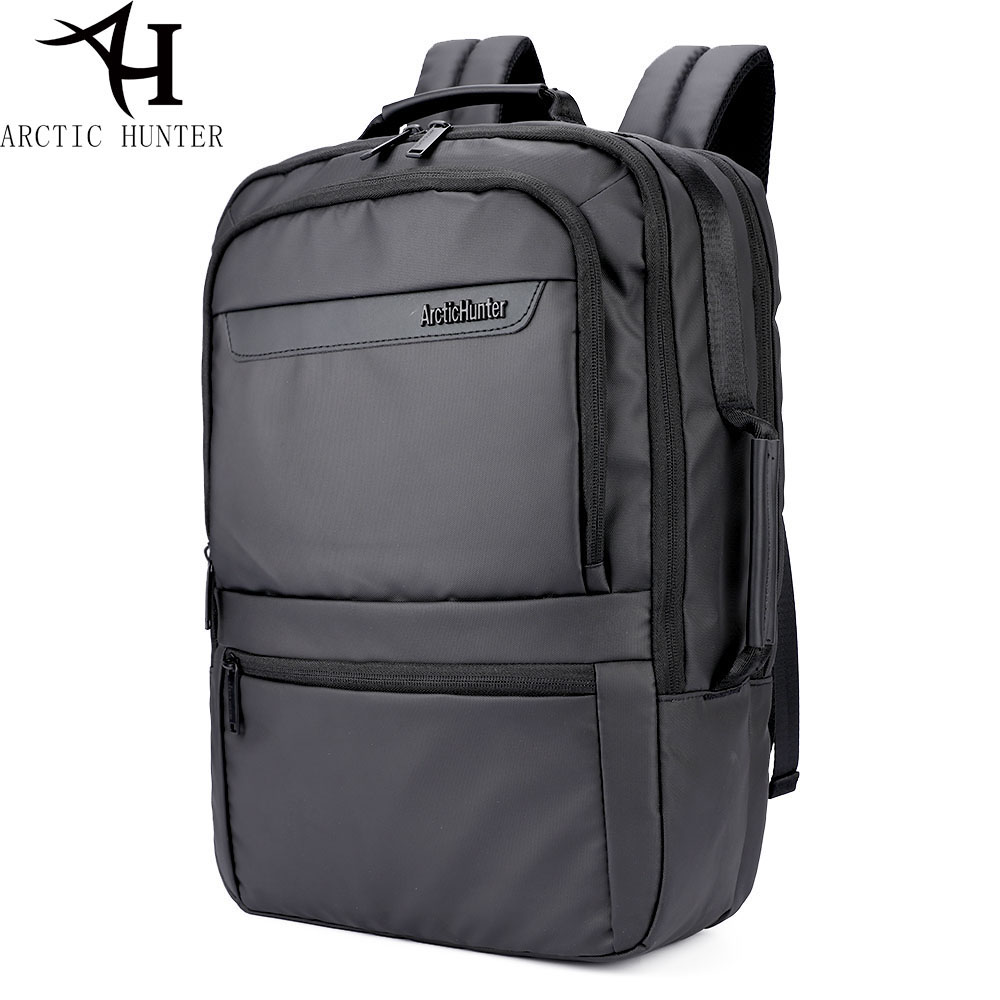 ARCTIC HUNTER Business Travel Laptop Backpack Male Casual Black classic Backpack for Men Women waterproof School Bag вяжем для мужчин джемпер жакет жилет спицы
