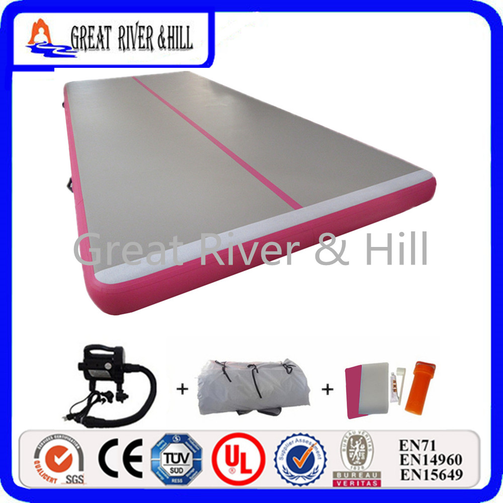 Great River & Hill Inflatable air track 5mx1.5mx15cm high quality with Fedex shipping