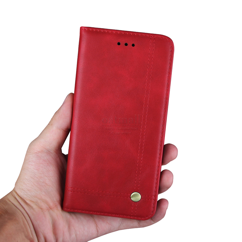 Luxury Retro Slim Leather Flip Cover For Xiaomi Redmi Note 8 / 8T / 8 Pro Case Wallet Card Stand Magnetic Book Cover Phone Case